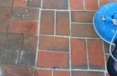 Main Cleaning Cleaning Brick and Grout in Tallahassee Florida
