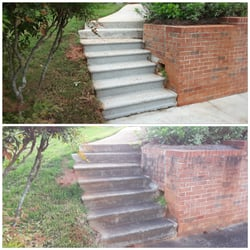 Pressure Washing Service Before After Image
