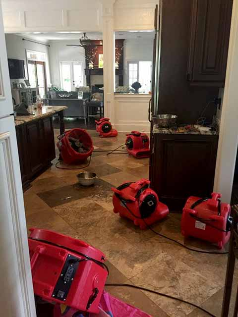 Tallahassee Water Damage Restoration Services Residential
