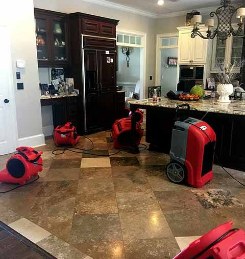 Tallahassee Water Damage Restoration Residential