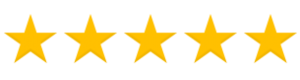 5 Star Review Image